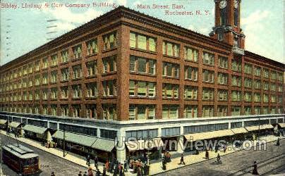 Lindsay & Curr Co's New Bldg. - Rochester, New York NY Postcard