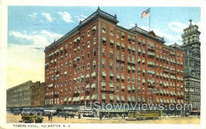 Powers Hotel - Rochester, New York NY Postcard