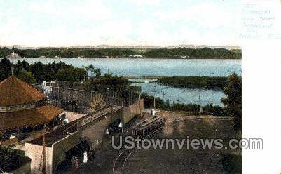 Glen Haven Irondequoit Bay - Rochester, New York NY Postcard