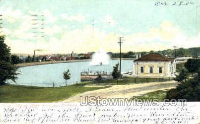 Mount Hope Reservoir - Rochester, New York NY Postcard