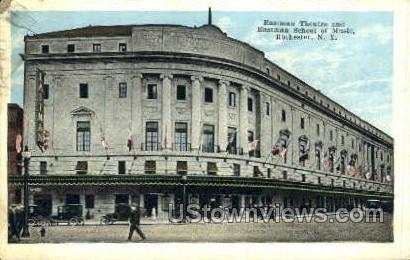 Eastman Theater, U of Rochester - New York NY Postcard