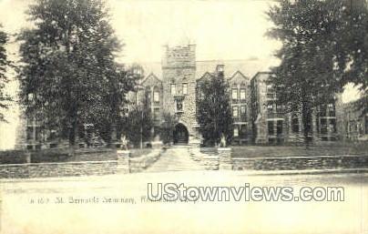 St. Bernards Seminary - Rochester, New York NY Postcard