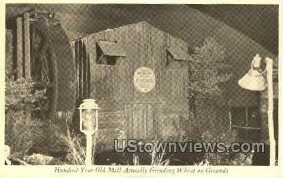 Hundred-Year-Old Mill - Rochester, New York NY Postcard