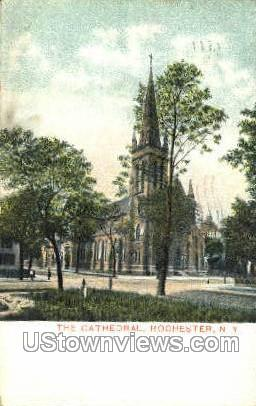The Cathedral - Rochester, New York NY Postcard