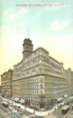 Powers Bldg - Rochester, New York NY Postcard