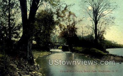 Red Creek, South Park - Rochester, New York NY Postcard