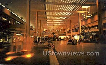 Interior of Midtown Plaza - Rochester, New York NY Postcard