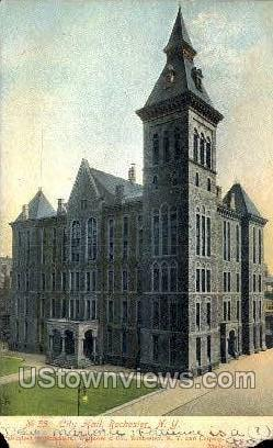 City Hall - Rochester, New York NY Postcard