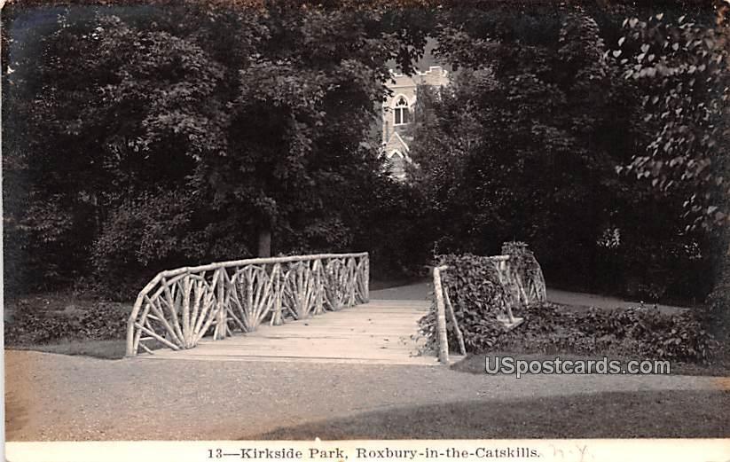 Kirkside Park - Roxbury in the Catskills, New York NY Postcard