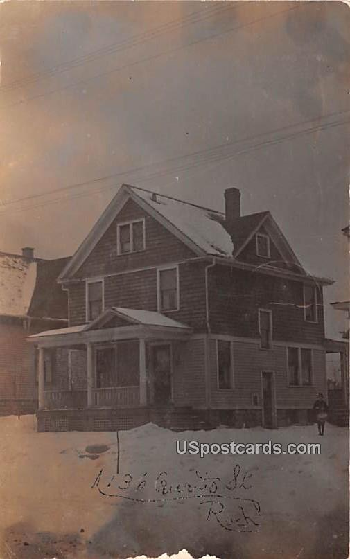 Curtis Street House - Rochester, New York NY Postcard
