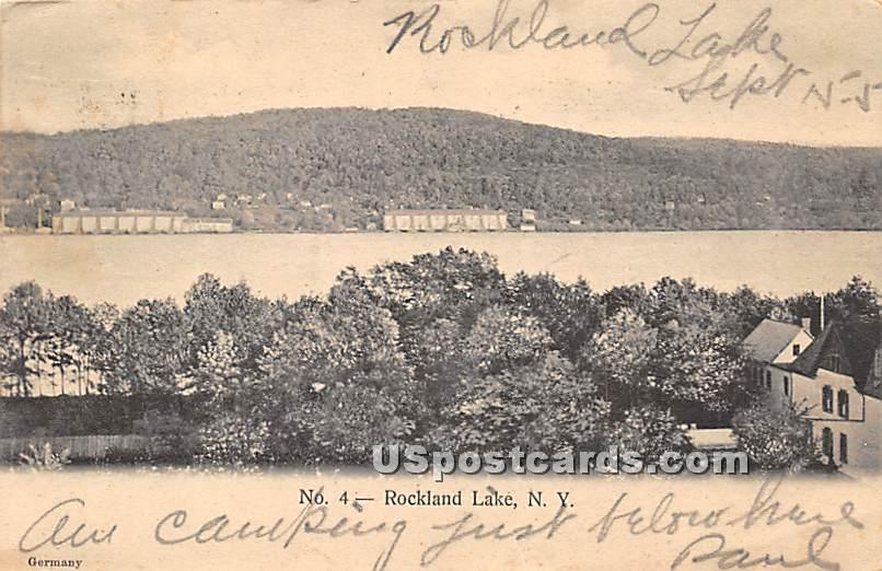 Rockland Lake - New York NY Postcard