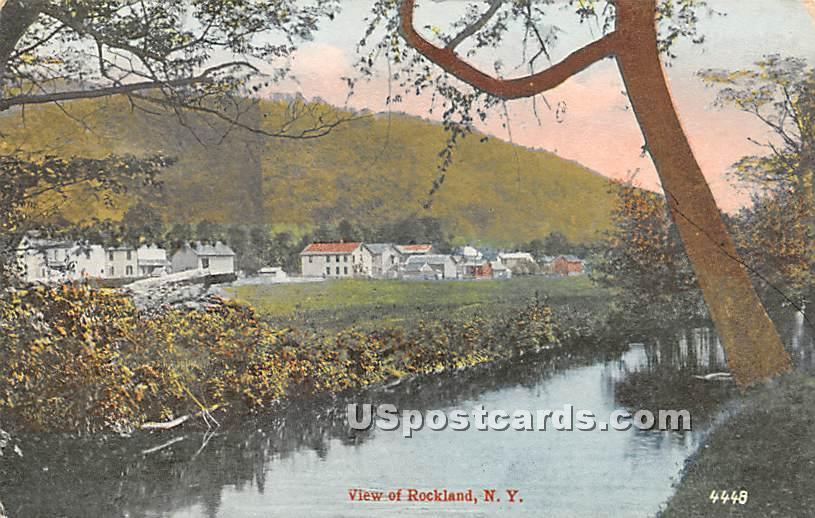 Water View - Roscoe, New York NY Postcard