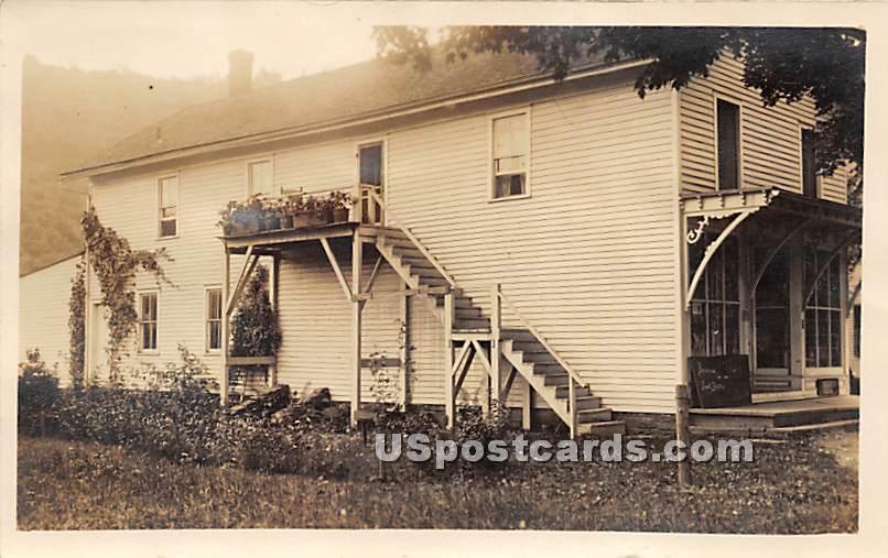 Staircase - Rockland, New York NY Postcard