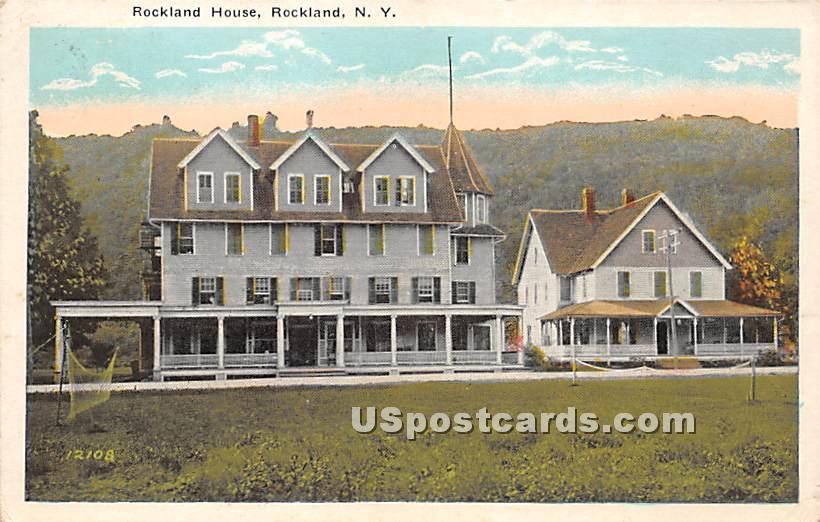 Rockland House - New York NY Postcard