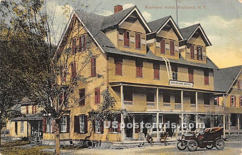 Rockland Hotel - New York NY Postcard