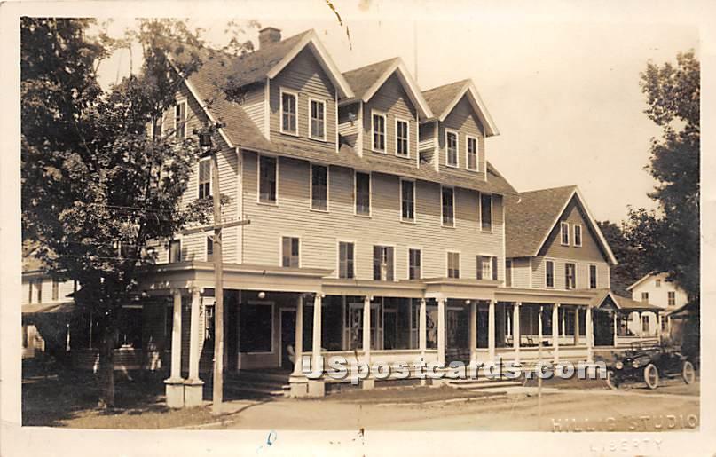 Green's Hotel - Rockland, New York NY Postcard