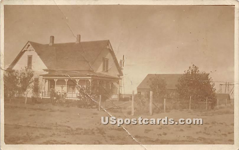 Allen Home - Rockland, New York NY Postcard