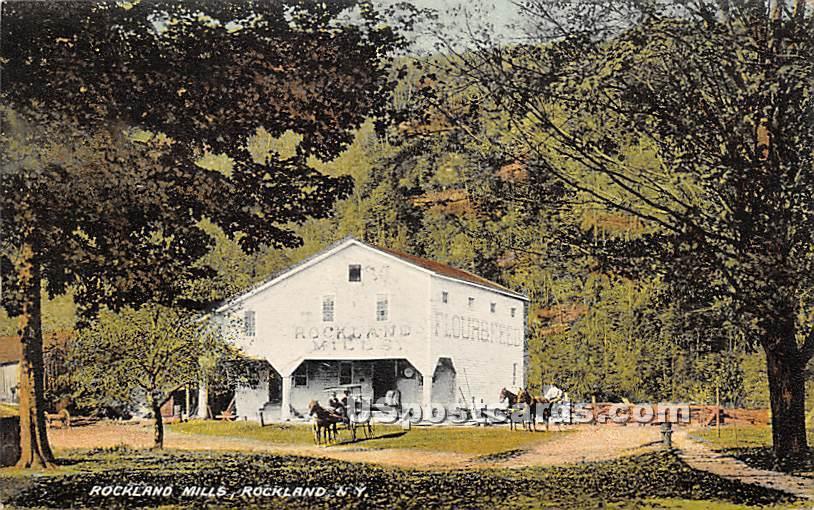 Rockland Mills - New York NY Postcard