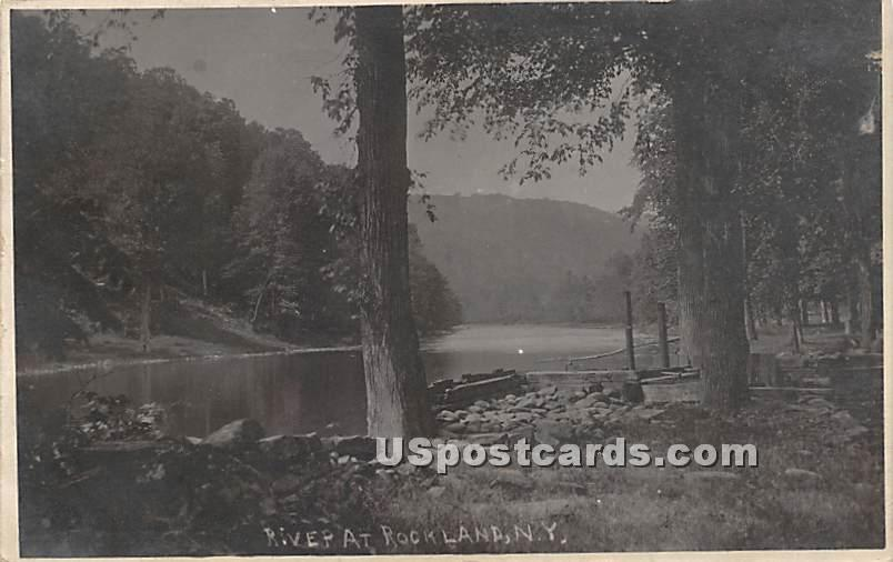 Water View - Rockland, New York NY Postcard