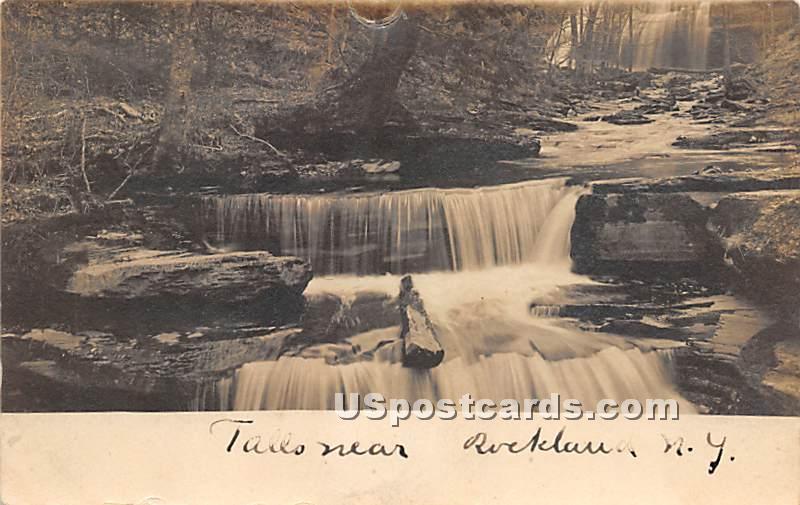 Falls - Rockland, New York NY Postcard