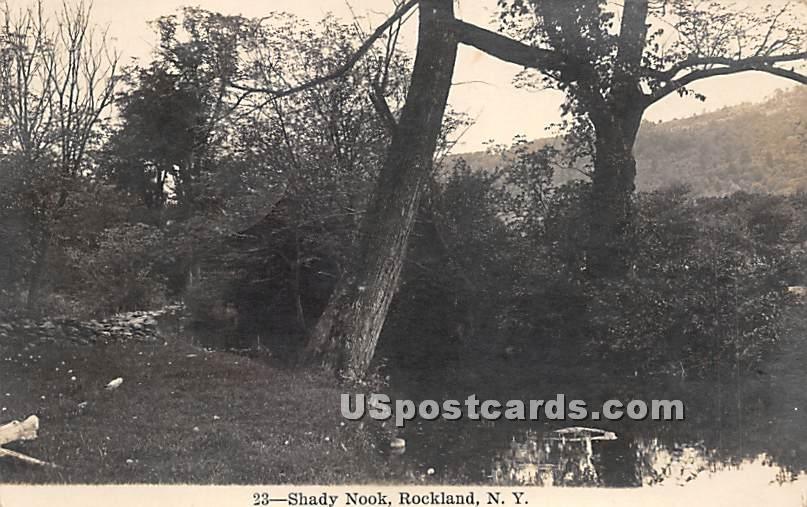 Shady Nook - Rockland, New York NY Postcard