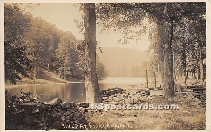 River - Rockland, New York NY Postcard