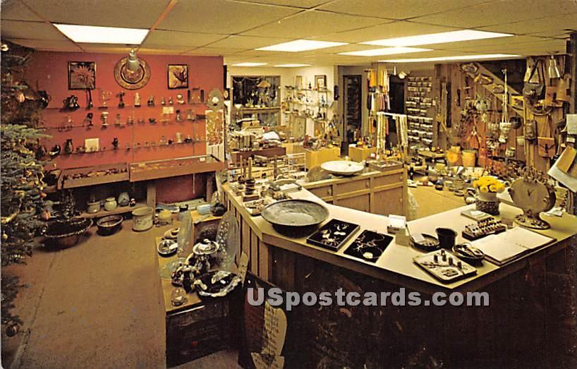 Roscoe Craft Center - New York NY Postcard