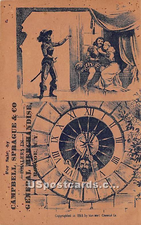 Campbell, Sparague & Co - Roscoe, New York NY Postcard
