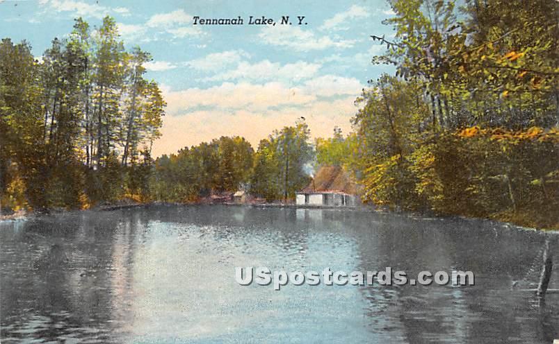 Tennanah Lake - Roscoe, New York NY Postcard