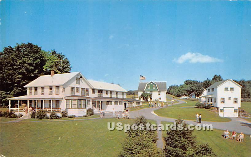 The Huff House - Roscoe, New York NY Postcard