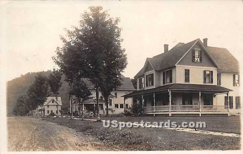 Valley View Villa - Roscoe, New York NY Postcard