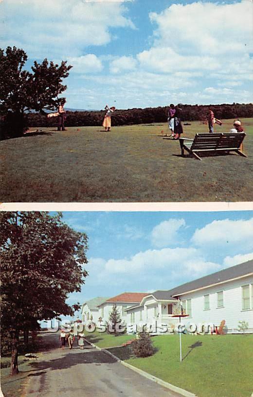 Tennanah Lake House - Roscoe, New York NY Postcard