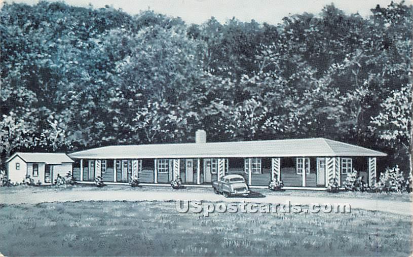 Seitel's Beaverkill Motel - Roscoe, New York NY Postcard