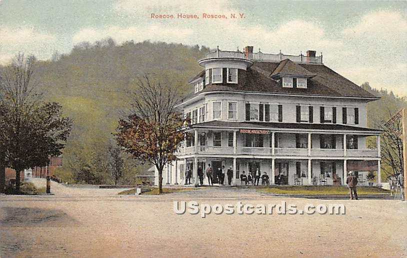 Roscoe House - New York NY Postcard