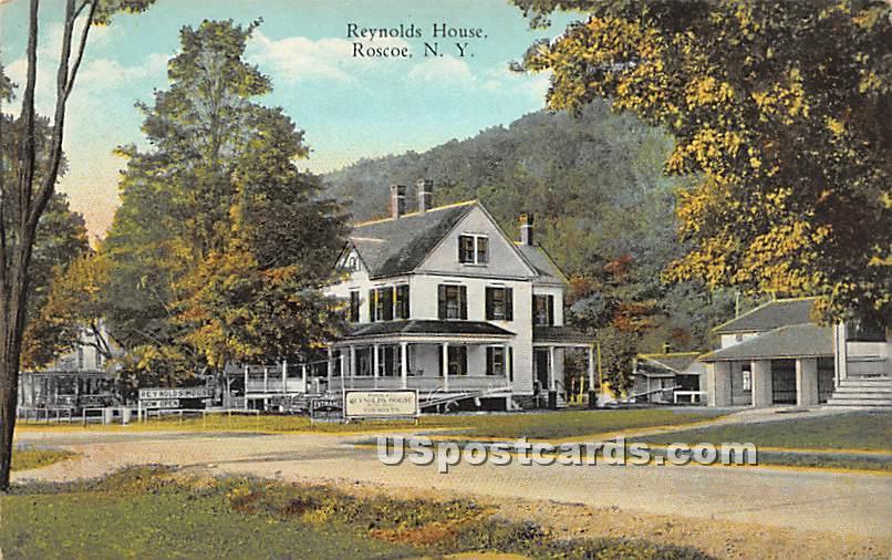Reynolds House - Roscoe, New York NY Postcard