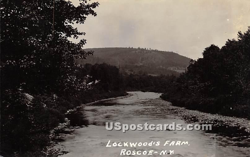 Lockwood's Farm - Roscoe, New York NY Postcard