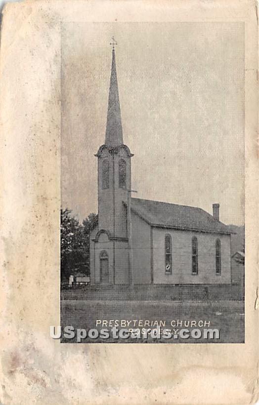 Presbyterian Church - Roscoe, New York NY Postcard