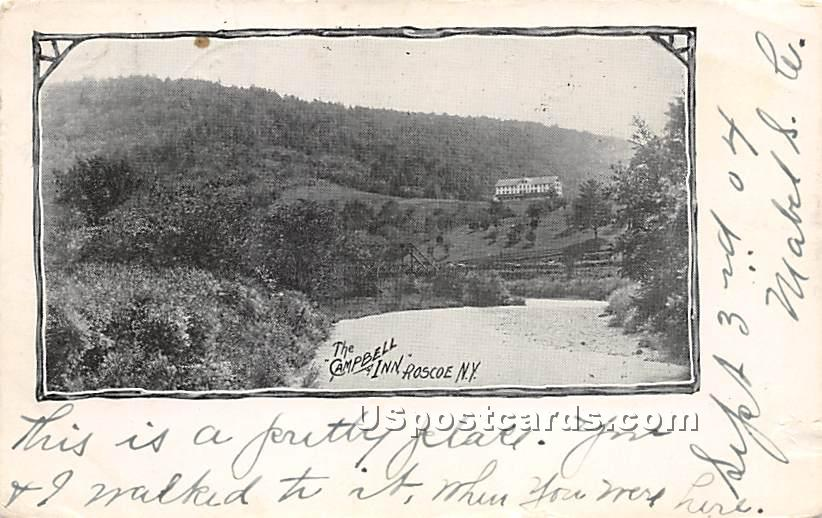 The Campbell Inn - Roscoe, New York NY Postcard