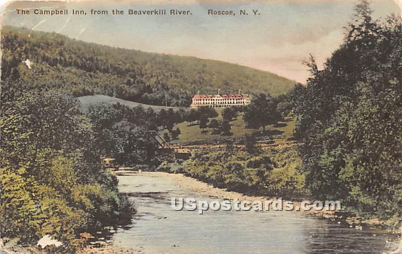 Campbell's Inn - Roscoe, New York NY Postcard