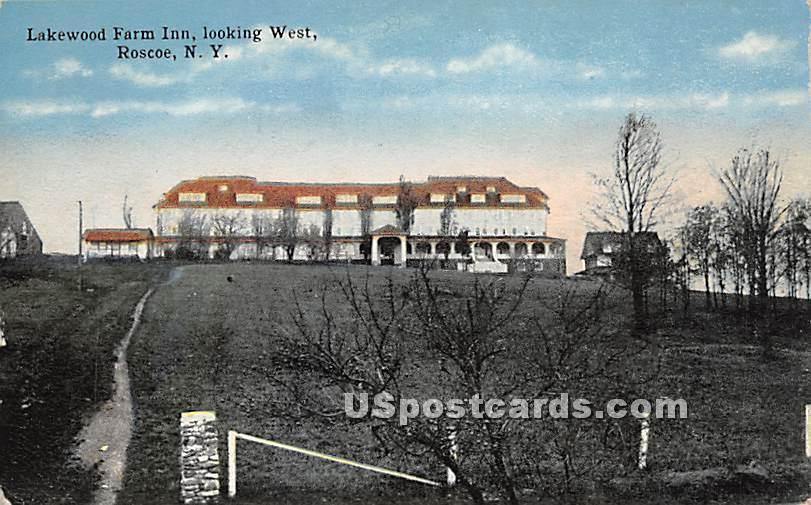 Lakewood Farm Inn - Roscoe, New York NY Postcard