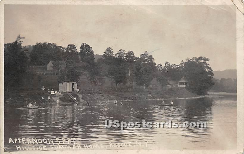 Afternoon Sport - Roscoe, New York NY Postcard