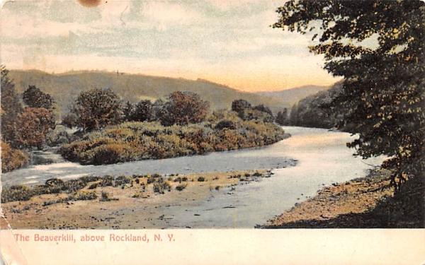 The Beaverkill Rockland, New York Postcard