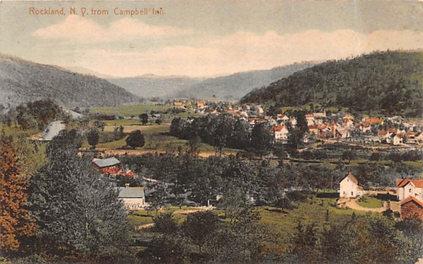 From Campbell Inn Rockland, New York Postcard