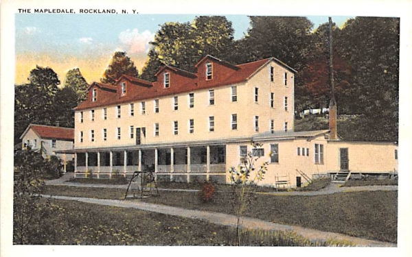 The Mapledale Rockland, New York Postcard