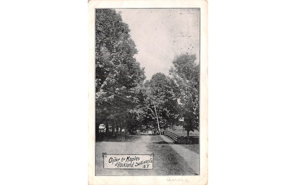 Under the Maples Rockland, New York Postcard