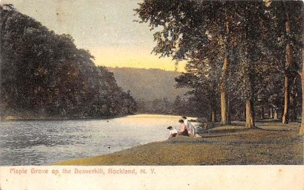 Maple Grove on the Beaverkill Rockland, New York Postcard