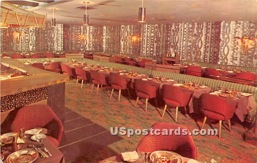 Hearth & Embers, Manger Hotel - Rochester, New York NY Postcard