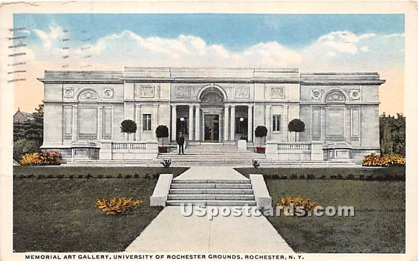 University of Rochester Grounds - New York NY Postcard