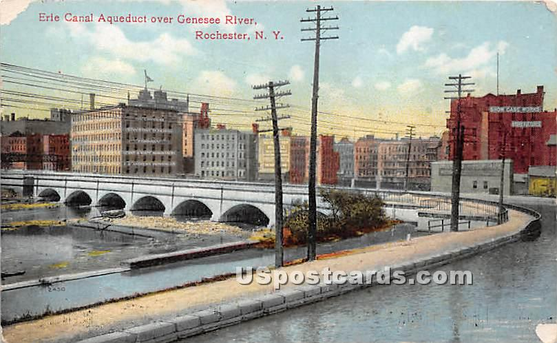 Erie Canal - Rochester, New York NY Postcard