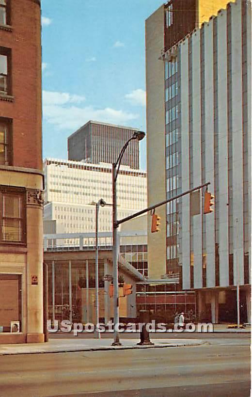 Rochester New Look, Main Street - New York NY Postcard